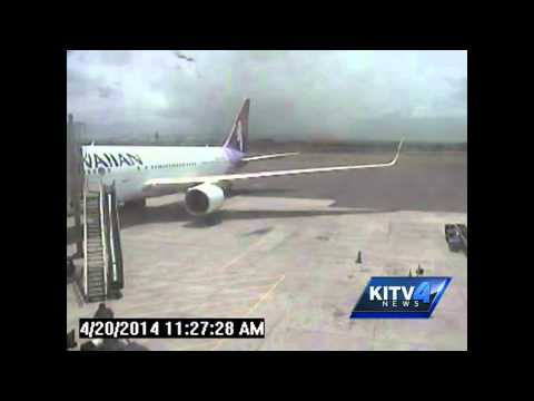 DOT releases surveillance video of stowaway