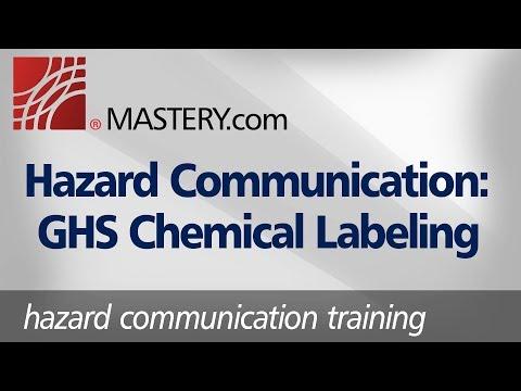 Hazard Communication: GHS Chemical Labeling | Training