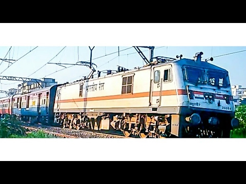 Indian Railways: Loco From SECR Visits Pune And Heading Back Towards The Capital Of India.