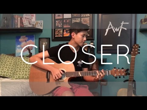 The Chainsmokers - Closer ft. Halsey - Cover (Fingerstyle Guitar)