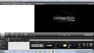 Как записать видеоурок в Camtasia studio 7