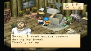 Gambar cover (PS1) Harvestmoon back to nature gameplay