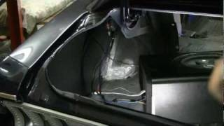 Episode 57 Stereo Part 4 final installation of radio in Classic Cars, Muscle Cars, Autorestomod