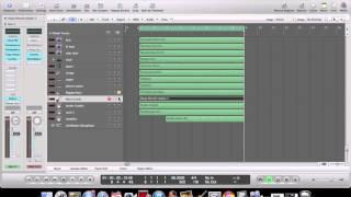 Making a Reggae Beat Logic