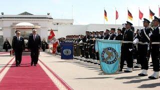 ملخص زيارة الدولة التي أداها رئيس جمهورية ألمانيا الفدرالية إلى تونس من 27 إلى 29 أفريل 2015
