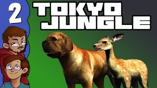 Let's Play Tokyo Jungle Co-op (Survival Mode) Part 2 - Tosa and Sika Deer, What Could Be Better?