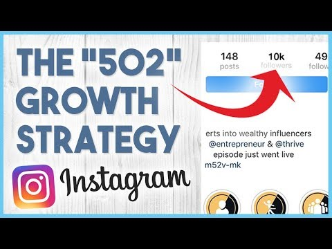 "😏 The ""502"" Instagram Growth Strategy - How To Get 10K Followers Fast On Instagram Organically 😏"