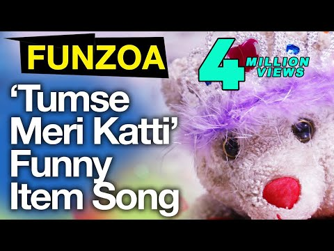 Tumse Meri Katti-Funny Bollywood Item Song By Mimi Teddy | Funny Funzoa Hindi Love Song