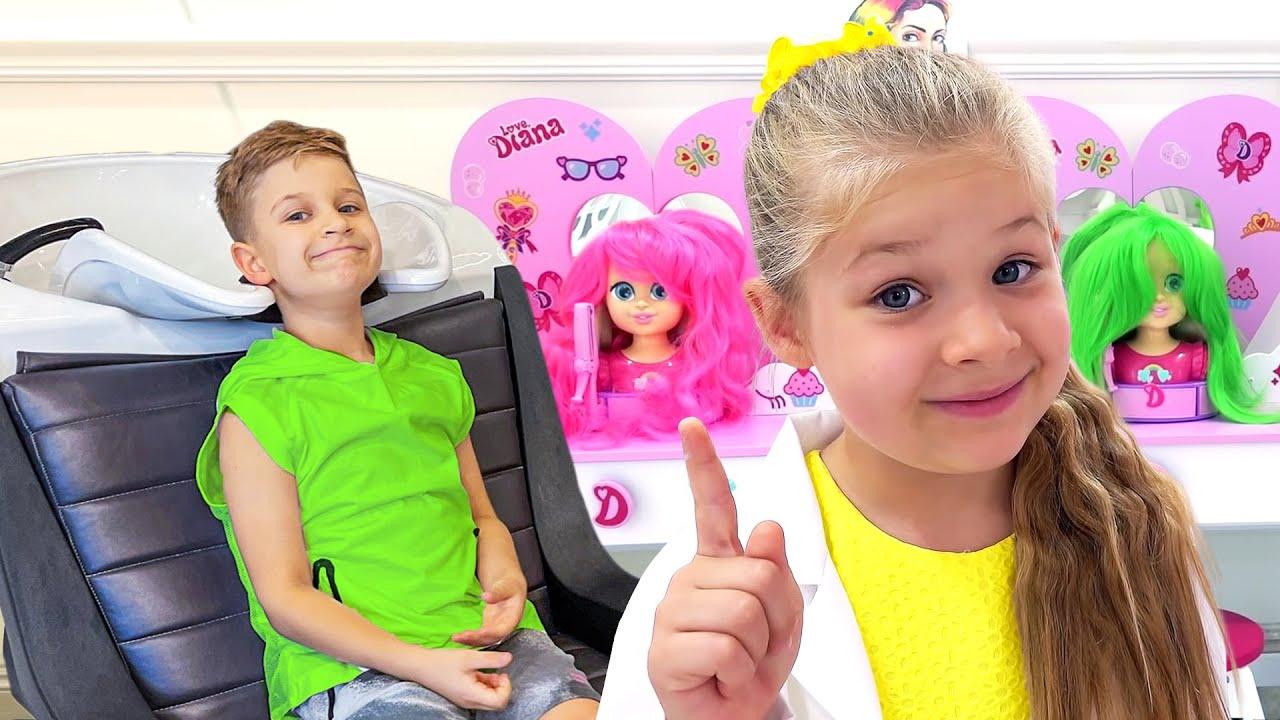 ¡Diana juega a tener su propio salón de belleza con nuevos kits de maquillaje para niños!