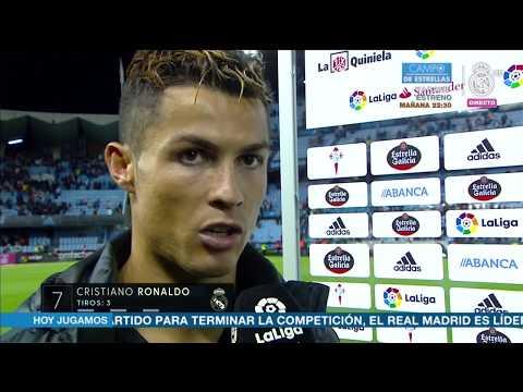 Declaraciones Cristiano Ronaldo post Celta 1-4 Real Madrid | LIGA JORNADA 21