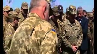 Новейшее оружие Украины. Выставка на полигоне Десна, посетил Порошенко.