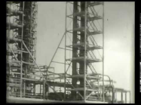Shell Cardon Oil Refinery, Venezuela in 1948-49
