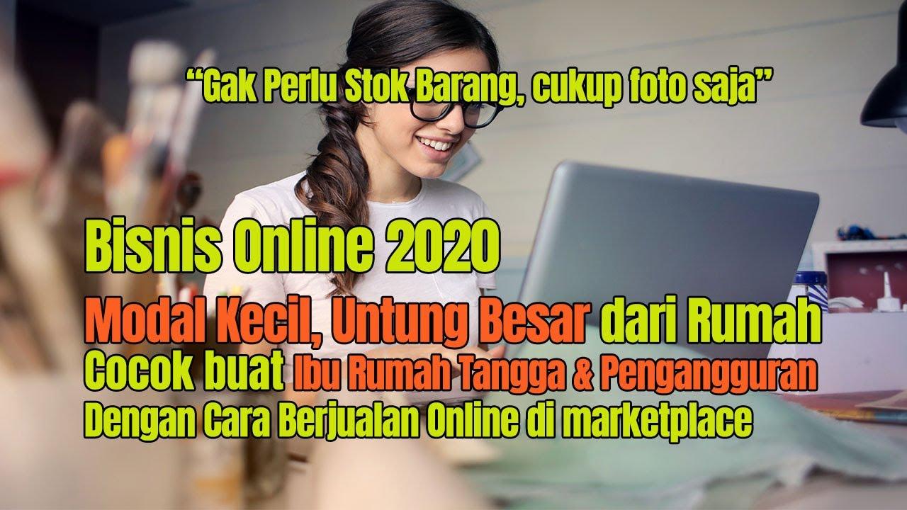 bisnis online untuk pengangguran 2020 - YouTube
