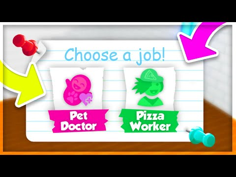 *NEW* JOBS Update in Adopt Me! Earn Money Fast // Roblox Adopt Me!