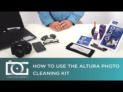 Camera Cleaning Kit | Clean Your DSLR Body & Lens Like a Pro | By Altura Photo®