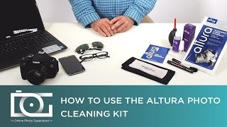 Using Altura Photo Professional Cleaning Kit for Canon, Nikon, Pentax, Sony, and Others