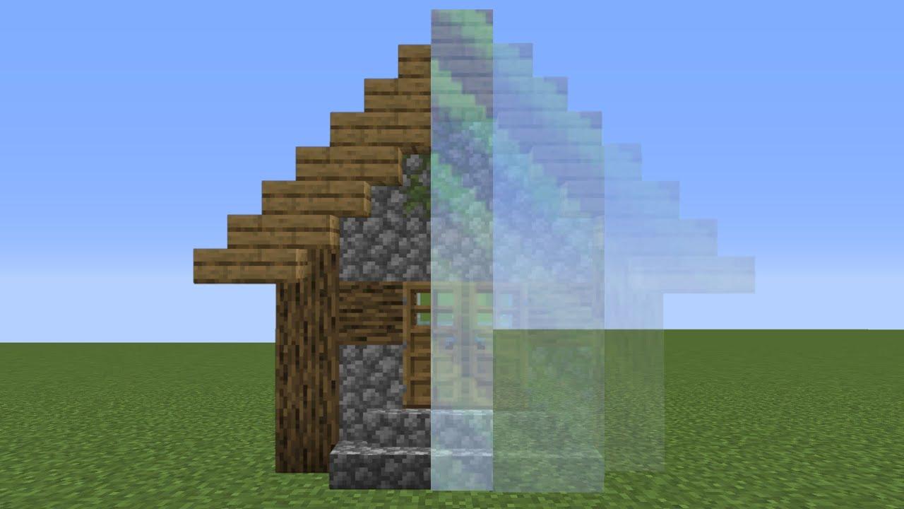 เมื่อทำให้!! บ้านล่องหน | Minecraft