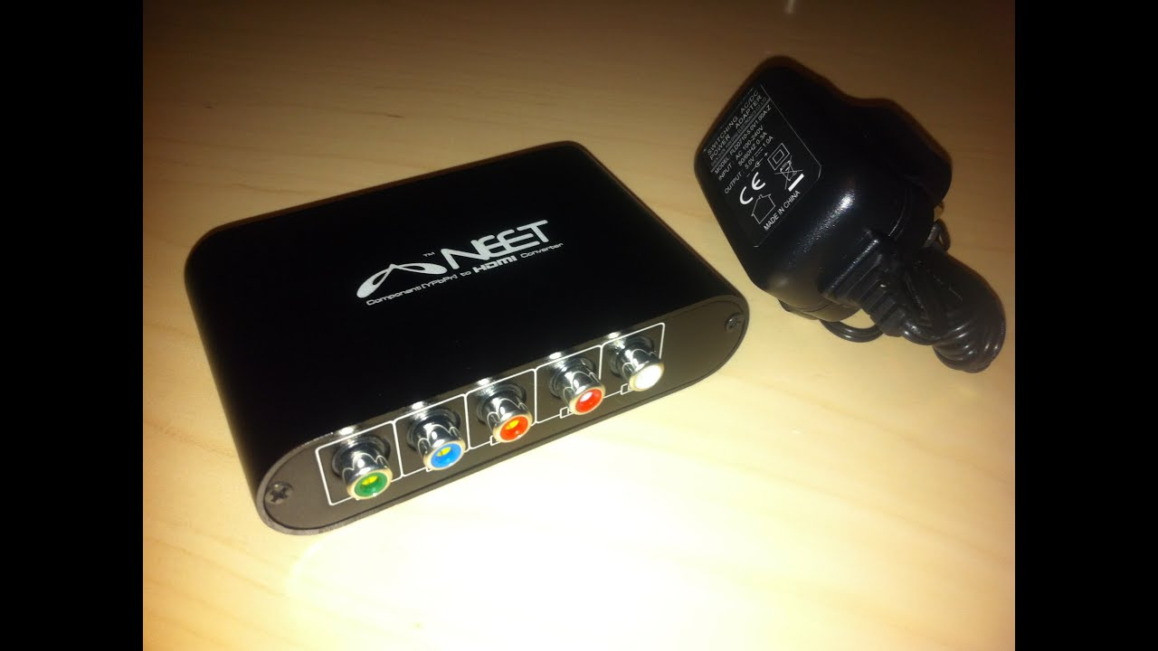 Premium HD Component YPbPr Composite RCA HDMI VGA Video Recorder