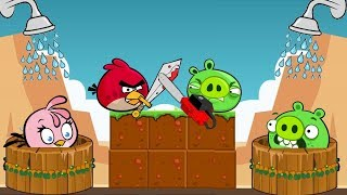 Angry Birds Take A Shower 2 - TAKE SHOWER FOR STELLA BY LET PIGGIES AWAY!