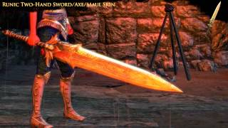 Path of Exile - Runic Two-Hand Sword/Axe/Maul Skin