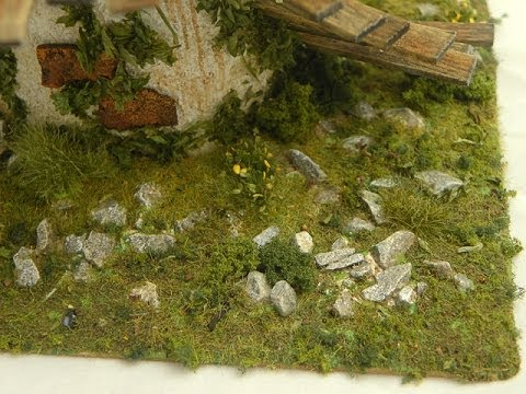 Miniature Terrain: Basing Materials