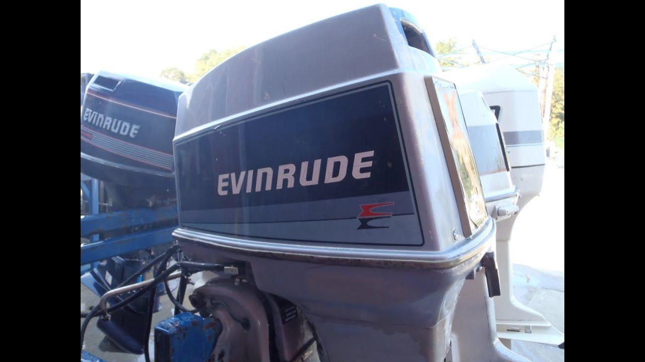 Evinrude 70hp Overheat Alarm
