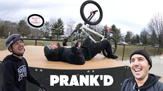 Playing A Prank Backfires  The 'Rigged' Game Of Bike
