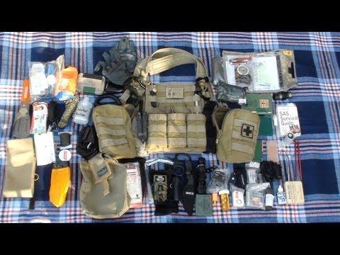 Bug-out Chest Rig Tier II SORD Survival Vest Australian
