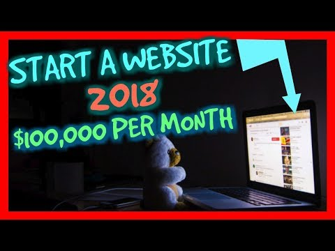 How To Start A Website That Makes $100,000 PER MONTH - 7 Easy Steps