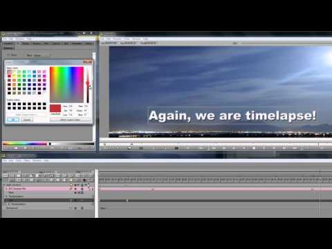 Tutorial: Eye Scream Factory Title Animations for Boris Graffiti 5, Avid FX 6, and Boris RED 5