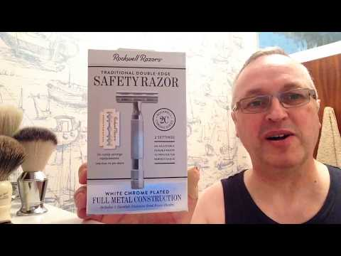 The Rockwell 2c (white chrome) review and shave.