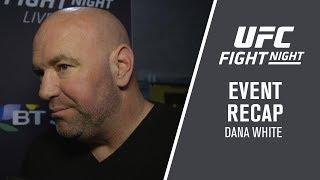 Fight Night Liverpool: Dana White Event Recap