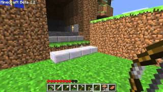 Minecraft Beta 1.2 Gameplay [PC HD]