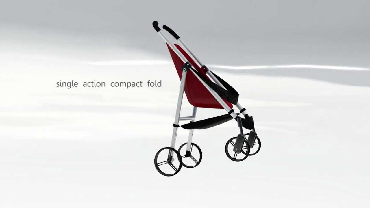 Final Pushchair Animation Youtube Stroller Cocolatte Isport 9m