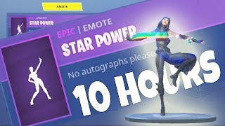 FORTNITE New FATE Skin STAR POWER EMOTE DANCE 10 HOURS
