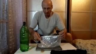 Снаряжение в поход. Мягкая канистра для воды. Видео от VLANK.