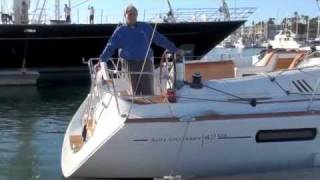 2011 Jeanneau 42DS Walk-Through Tour Cruising Yachts Marina del Rey
