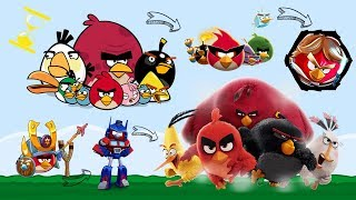 Evolución de los Angry Birds (2009 - 2017) | ATXD ⏳