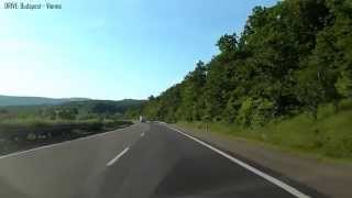 Drive: BUDAPEST - VIENNA in 3 Hours Full Video with relaxing classical music