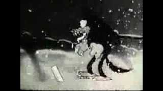 Merry Hund-Walter Lantz 1933-Hündchen Pup Weihnachten Cartoon