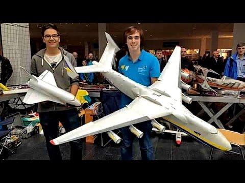 antonov an 225 mriya buran lightweight rc scale model indoor