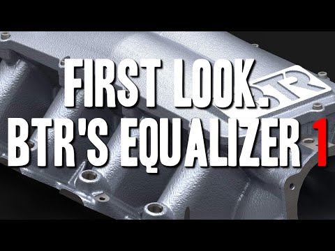 FIRST LOOK: Brian Tooley Racing's New Intake! THE EQUALIZER 1!