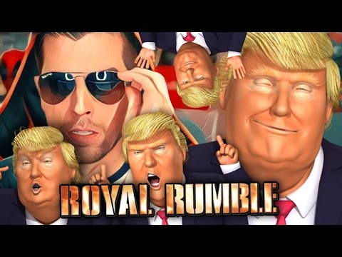 TRUMP ROYAL RUMBLE!! | Mr President