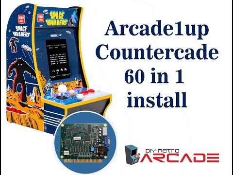 Arcade1Up Counter Cade 60 in 1 Full Install Video by DIY Retro Arcade from DIY Retro Arcade