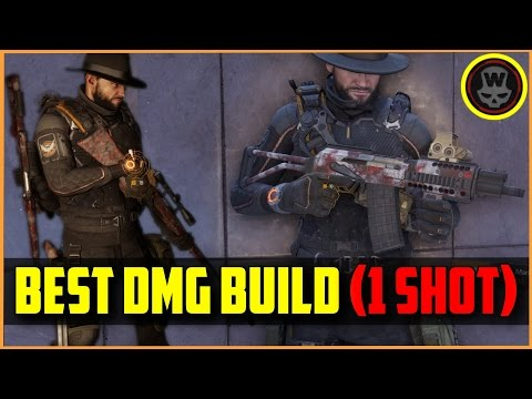 BEST DMG Build 1.6 (One Shot Sniper)  + gameplay (The Division)