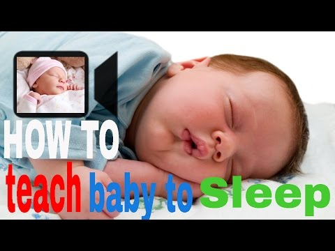 How to teach baby to sleep Safe through the night