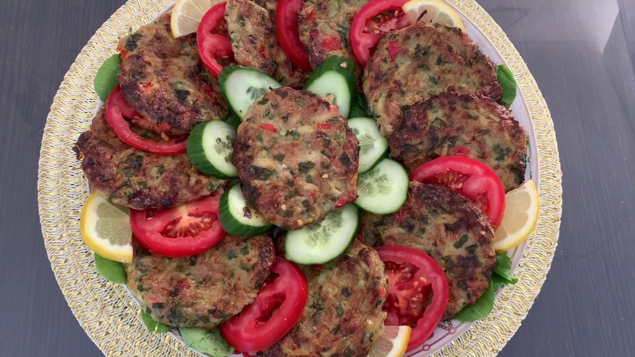 Chicken chapli kebab in the oven/ چپلی کباب مرغ در داش