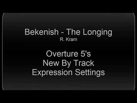 Bekenish - Using  New per Track Expression Markings in Overture 5