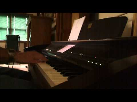 Sweet Hour of Prayer - piano instrumental with lyrics