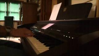 Sweet Hour of Prayer - piano instrumental with lyrics